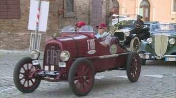 Рали на ретро автомобили в Италия