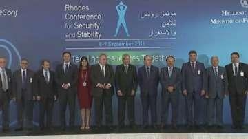 Остров Родос е домакин на конференция за сигурност и стабилност