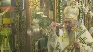 Празнична литургия в Рилския манастир