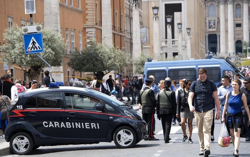 В Рим е обявено максимално равнище на терористична заплаха, след