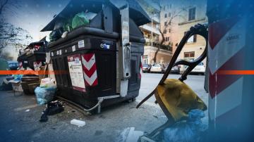Криза с боклука в Рим