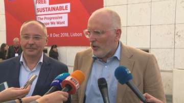 Очаква се ПЕС да излъчи Франс Тимерманс за кандидат за председател на ЕК