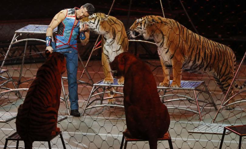 снимка 2 Последното представление на най-стария цирк в САЩ