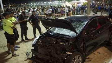 Кола се вряза в пешеходци в Рио де Жанейро