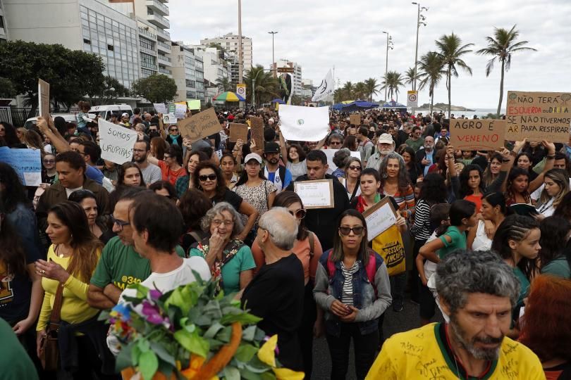 снимка 2 Леонардо ди Каприо дарява 5 милиона долара за спасяването на амазонските гори