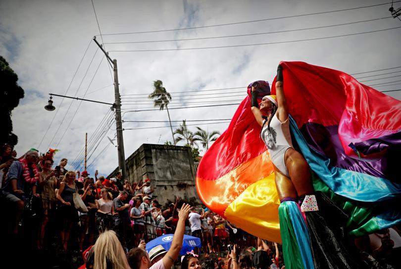 снимка 1 Започна карнавалът в Рио (СНИМКИ)