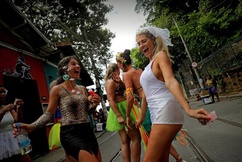 снимка 2 Започна карнавалът в Рио (СНИМКИ)
