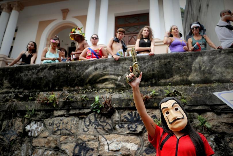 снимка 3 Започна карнавалът в Рио (СНИМКИ)