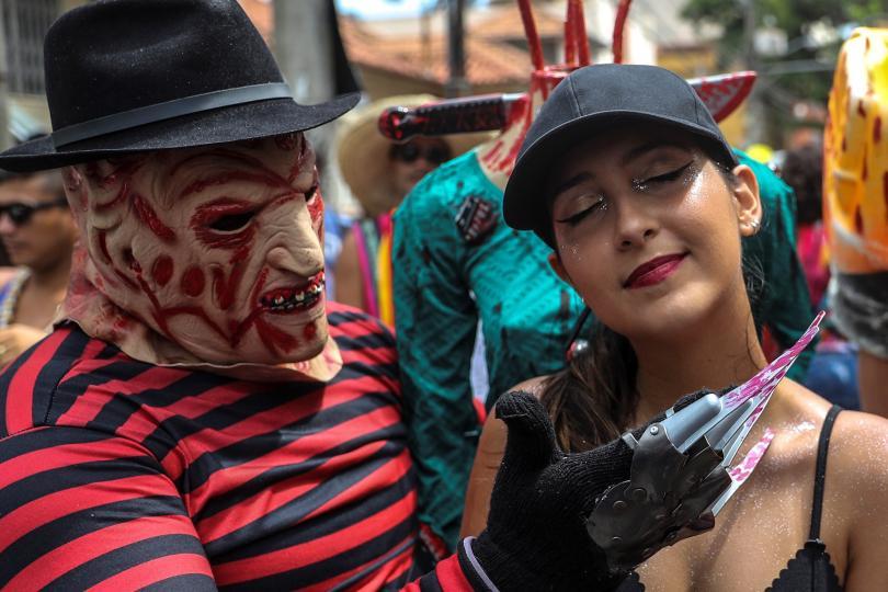 снимка 4 Започна карнавалът в Рио (СНИМКИ)