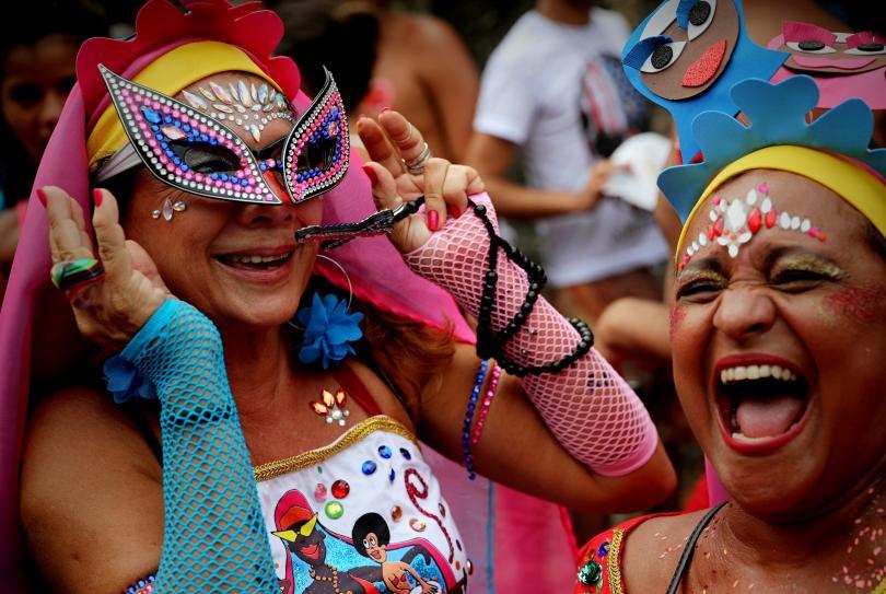 снимка 5 Започна карнавалът в Рио (СНИМКИ)
