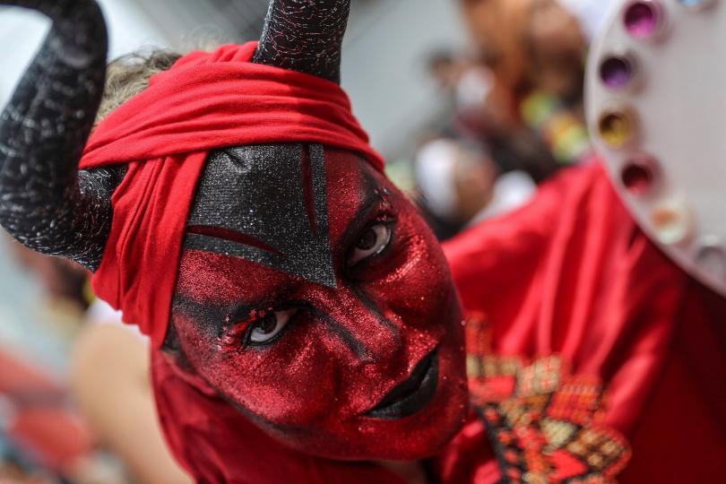 снимка 6 Започна карнавалът в Рио (СНИМКИ)