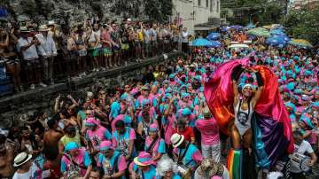 Започна карнавалът в Рио (СНИМКИ)