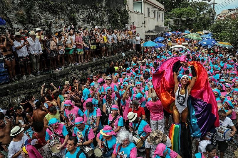 започна карнавалът рио снимки