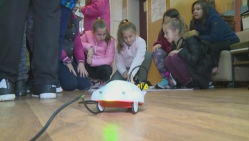 Регионалната библиотека в Кюстендил отбеляза Европейската седмица по роботика с