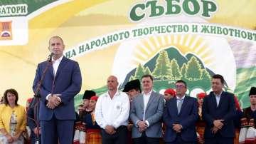 Президентът Румен Радев откри събора Рожен 2019