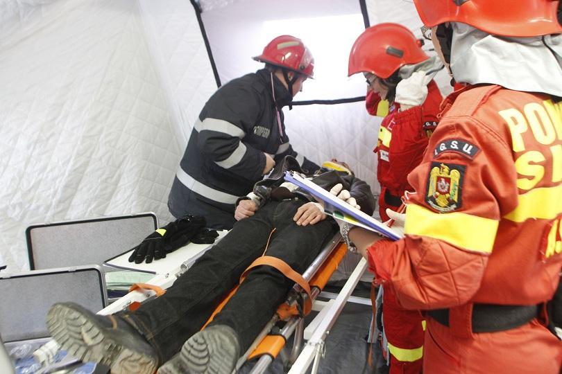 румъния проведоха мащабно учение реагиране земетресение