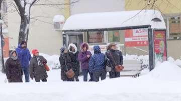 Затруднен трафик заради лошото време на целия Балкански полуостров