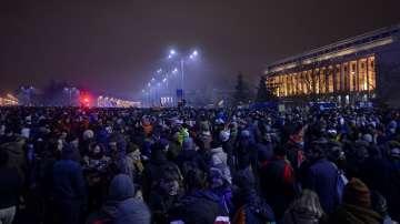 Протести в Румъния срещу плановете за амнистиране на затворници