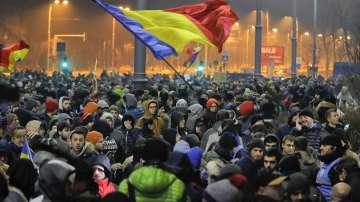 Нови бурни протести в Румъния