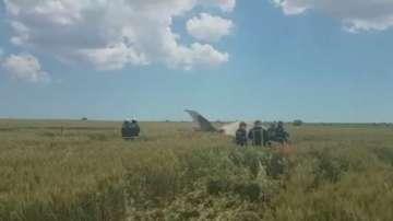 Румънски изтребител се разби по време на съвместно учение с българските ВВС