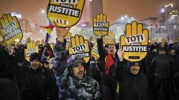 Мащабни антиправителствени протести в Румъния