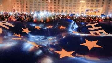 От нашите пратеници: Напрежение преди новият румънски премиер да положи клетва