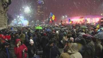 Отново протест в Букурещ