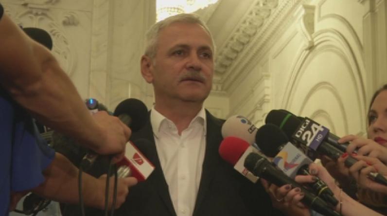 Лидерът на управляващата в Румъния Социалдемократическа партия Ливиу Драгня, който