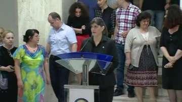Отстранен е антикорупционният прокурор на Румъния