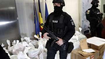 Откриха над един тон кокаин край румънския бряг на Черно море
