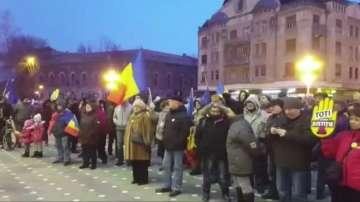 Пореден протест срещу корупцията в Румъния