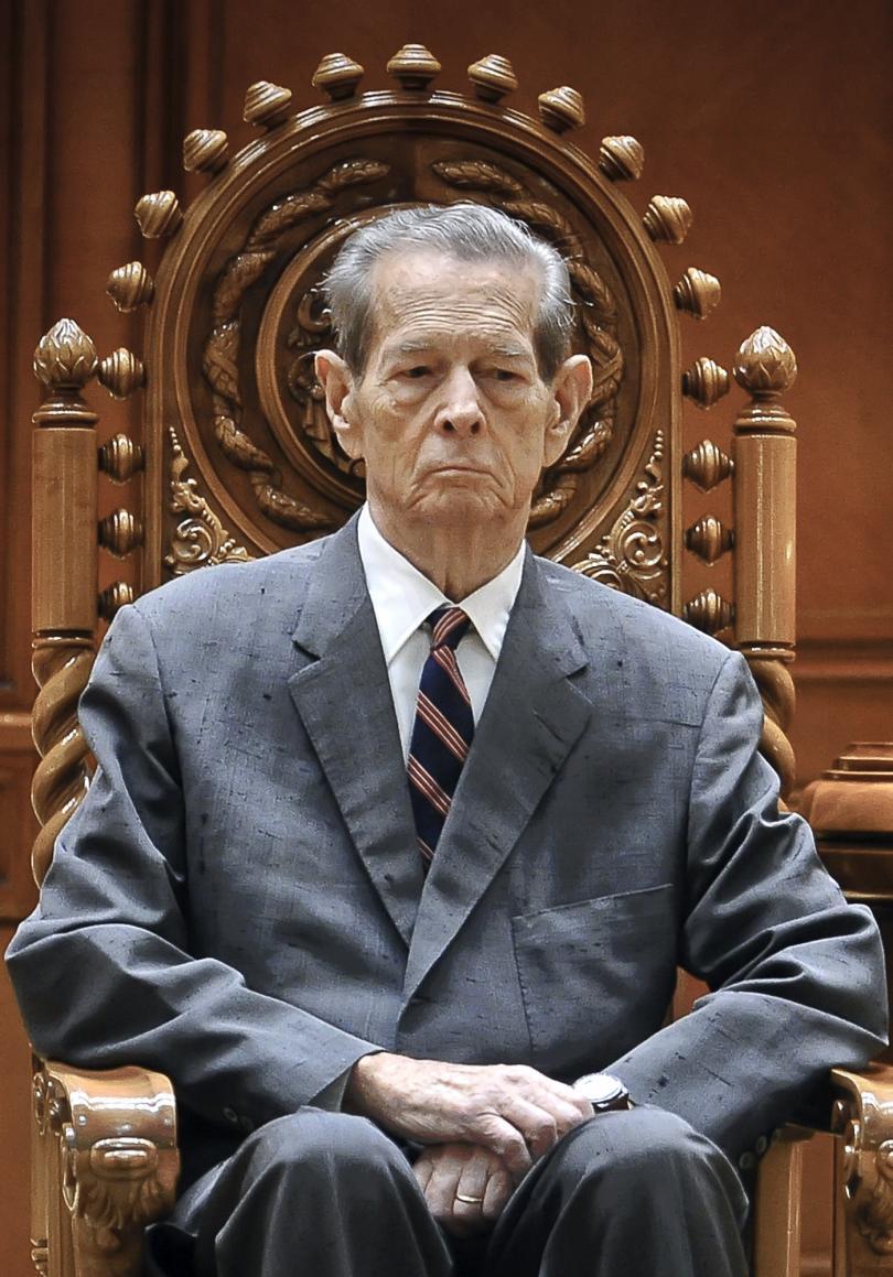 снимка 1 Почина бившият румънски крал Михай