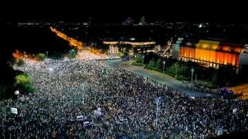 Без инциденти премина втората антиправителствена демонстрация в Букурещ