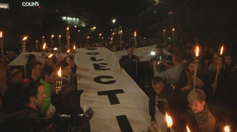 Протести срещу корупцията в Румъния