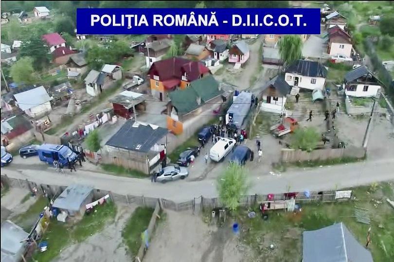 снимка 1 В Румъния разбиха мрежа, която отвлича хора за роби
