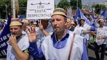 Учителски протести в съседна Румъния