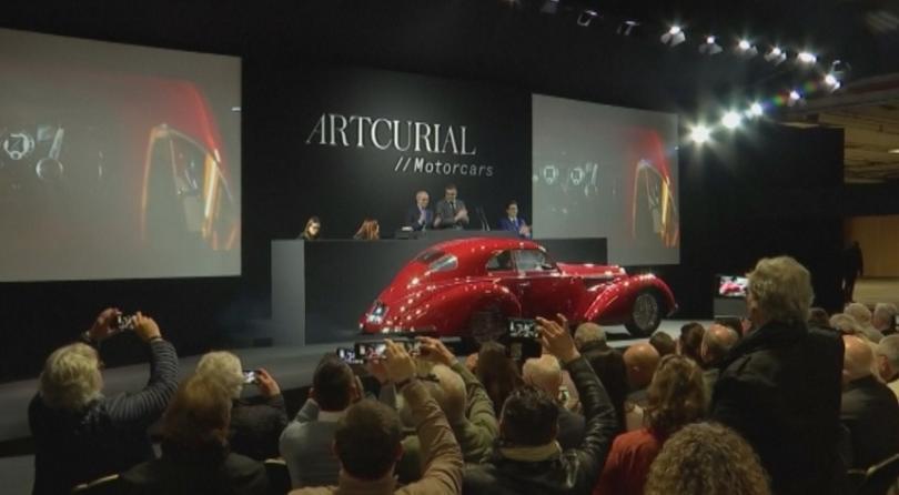 """Снимка: Рядък модел Алфа ромео"""" беше продаден за 16,7 млн. евро"""