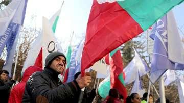 Протест на роми в София
