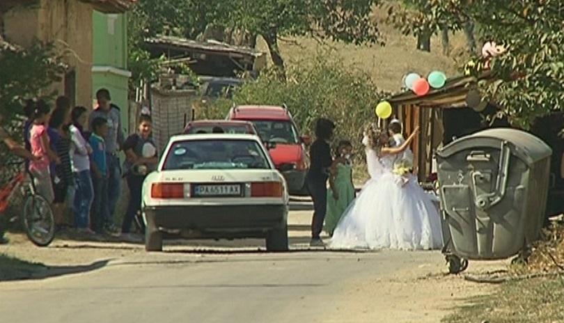 снимка 1 Сватба между малолетни в пазарджишкото село Априлци