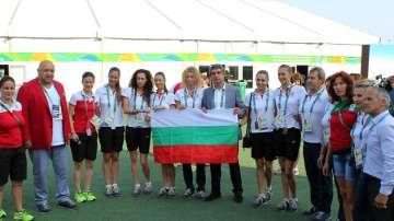 Президентът Росен Плевнелиев се срещна с българските олимпийци в Рио