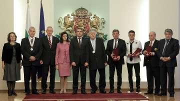 Президентът награди изявени интелектуалци