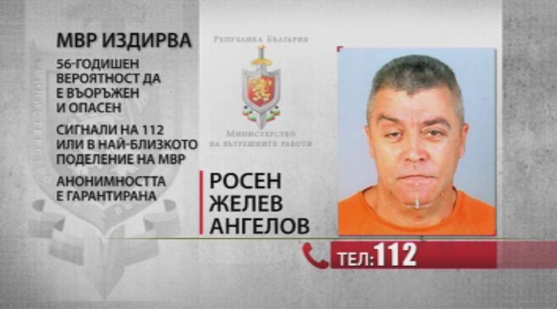 Министърът на отбраната Красимир Каракачанов заяви, че издирваният за шесторното