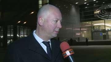 Росен Желязков пред БНТ преди протеста на превозвачите в Брюксел