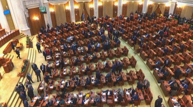 Падна правителството на Румъния. С 238 гласа за и 4