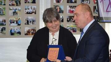 Кметът на Ружинци е носител на наградата на БТА Бялата птица