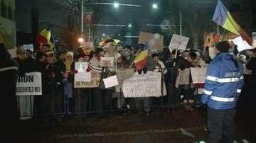 11-та нощ на протести в Румъния с искане оставка на правителството