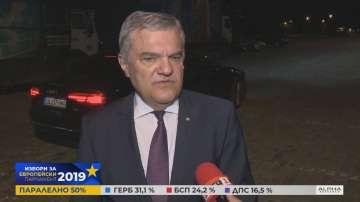 Румен Петков не е доволен от резултатите от евроизборите