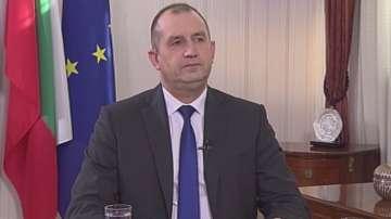 Специално интервю на президента Румен Радев пред БНТ