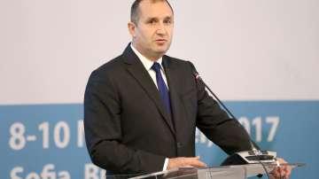 Президентът Радев присъства на конференция за електронното гласуване