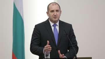 Президентът Румен Радев пристигна на работно посещение в Русия
